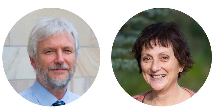 Photos of Professor Paul Glasziou and Professor Rachelle Buchinder